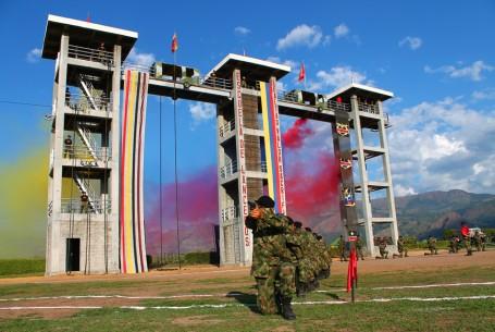 Torres Para Entrenamiento En Rappel – Base Militar Tolemaida